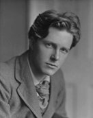 Rupert Brooke photographed by American photographer Sherrill Shell in 1913